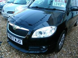 skoda fabia diesel 4 door hatch in mint condition inside and out