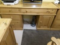 Pine Home Office Desk and other Furniture