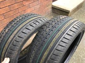 Continental Sport Contact 2 Tyres *BRAND NEW* 215/40/18