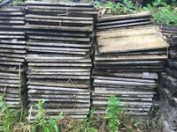 Large quantity of 'Ludlow' roof tiles