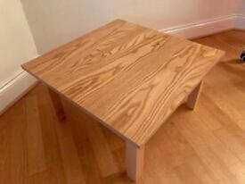 2 x Solid Oak Coffee Tables/ Bedside Table