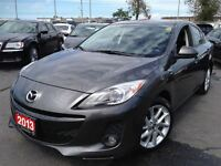 2013 Mazda MAZDA3 GT***LEATHER***NAV***SUNROOF***