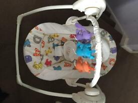 Baby swing ex condition