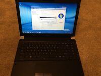 "15"" laptop Toshiba Satellite Intel i5 2.5GHz 1TB hybrid drive Windows 10"