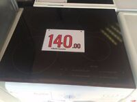 INDUCTION/ STANDARD HOBS WITH WARRANTY