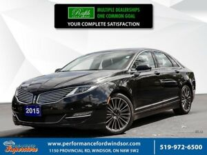 2015 Lincoln MKZ ***AWD, leather, NAV***