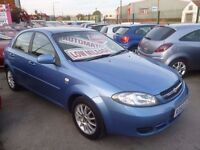 Chevrolet LACETTI SX Auto,5 dr hatchback,clean tidy car,drives as new,super low mileage 38k,KD55GLV
