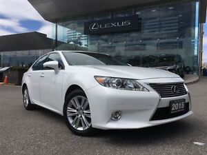 2015 Lexus ES 350 Touring Pkg Navi Back Up Cam Leather Sunroof