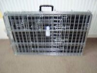 """42"""" Deluxe XL Dog Crate Silver - Brand New"""