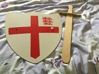 Children's shield and short sword