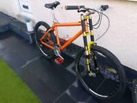 Coyote retro mountain bike 1998