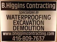 B HIGGINS CONTRACTING