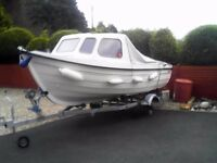 Orkney 520 Excellent condition light use with two engines and trailer recently serviced service docs