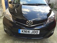 Toyota Yaris 2014 ICON PLUS as good as new only £6495 OVNO