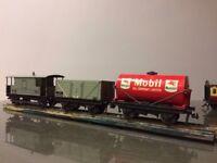 Hornby Dublo 3 rail train set.