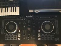 Numark Mixtrack Platinum & dust cover for dj