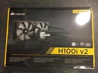 Brand new corsair H100i v2 water cooler i7 i5 gaming