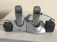 Panasonic Telephone set of 2