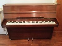 Modern upright Piano with piano stool