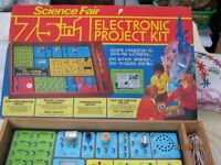 Rare 75 in 1 electronic project kit