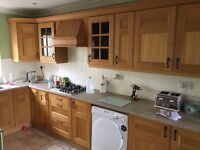 Fitted Kitchen with Solid Wood Doors with Miele appliances