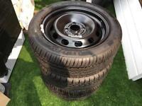 Ford Fiesta Steel Wheel 195/50/R15