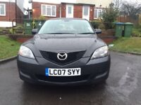 Mazda 3 automatic 1.6 petrol, 11 Month Mot, Very low millage:37150