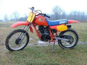 Looking for a 1986 xr 100r. Running or not.