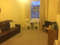Attractive one bedroom furnished flat centrally located in Easter Road