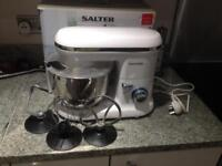 Salter Food Stand Mixer with 4.5 liter bowl and 600W