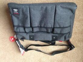 Babymel London baby changing bag- Tweed Grey -Brand New