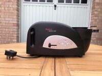 Tefal Toast And Egg Two Slice Toaster And Egg/Beans Maker - Black