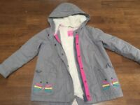 Parka jacket from Next 5-6 years perfect condition!!!