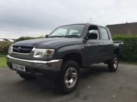 HILUX 2004,100k MILES,FULL MOT,ONE OWNER.JEEP.4X4