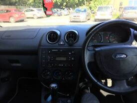 Ford Fiesta 03 plate Red