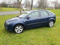 2005 FORD FOCUS 1.6 16V ZETEC PETROL 5DR HATCHBACK MOT MAY 2018 SERVICE HISTORY DRIVES SPOT ON