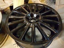 Set of 5 genuine Mk4 golf r32 alloy wheels