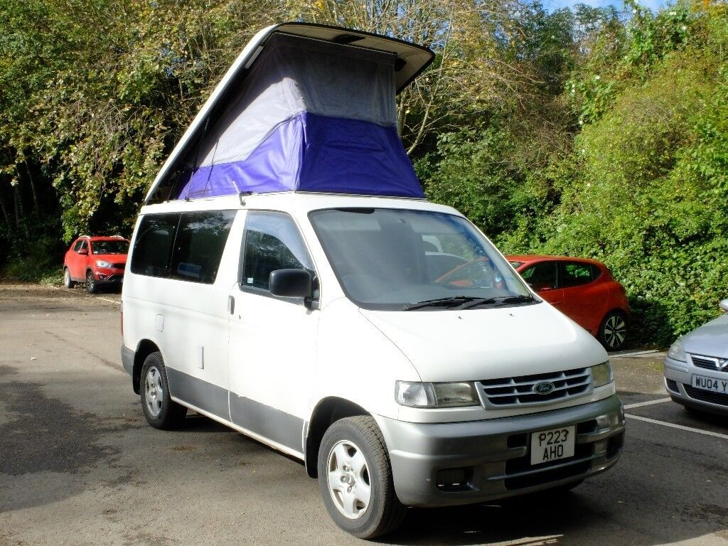 Converted Ford Freda / Mazda Bongo with accessories and ...
