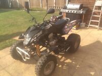 Road legal quad bike quadzilla 300 xlc 12 months mot