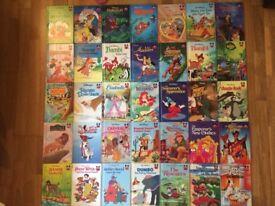Ultimate Collection WALT DISNEY Children's Hardback Children's Books x 35 @ Boy Girl Reading