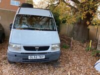 Vauxhall, MOVANO, Panel Van, 2003, Manual, 2463 (cc)