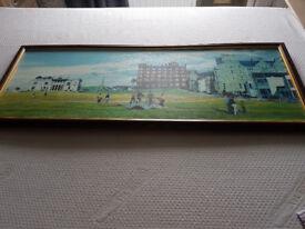 golf print of St Andrews