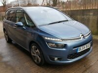 2015 CITROEN GRAND C4 PICASSO 2.0 BLUE HDI EXCLUSIVE+ 7 SEATER EURO 6 HUGE SPEC DS5 GALAXY VW TOURAN