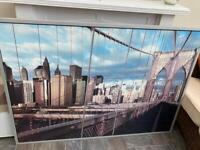 Brooklyn Bridge framed picture