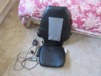 Homedics vibrating massage chair/seat cushion