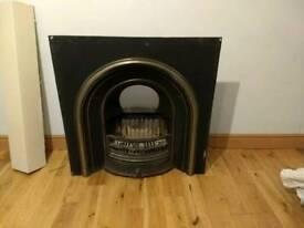 Beautiful Cast Iron Fireplace insert