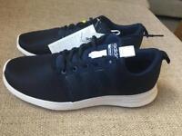 BNIB - Adidas Cloudfoam Swift Rac Trainers ,Navy Blue ,Size 8,