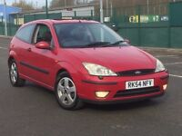 2005 FORD FOCUS 1.8 EDGE 3 DOOR * LOW MILEAGE * FULL HISTORY * 1 YR MOT * PX WELCOME