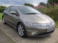 TRADE IN TO CLEAR 2006 HONDA CIVIC 1.8 VTEC EXCEXCUTIVE / SAT NAV / MOT JAN 2017 / DRIVES WELL