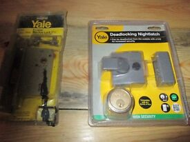 Brand New Yale door locks